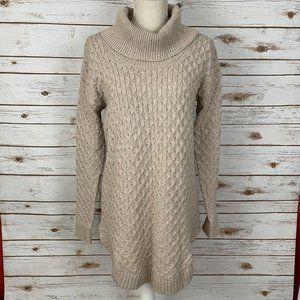 Motherhood Maternity Cowl Neck Tunic Sweater